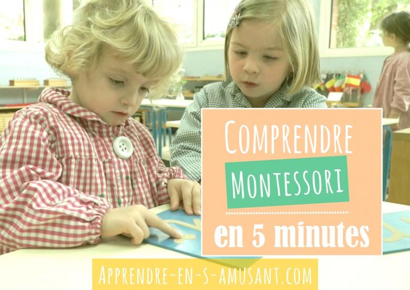 Couverture Montessori 5 minutes