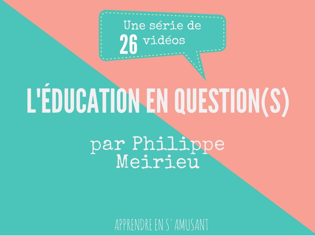 Couverture Education en 26 questions (3)