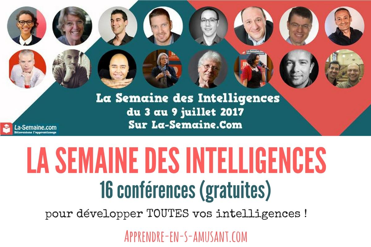 La semaine des intelligences