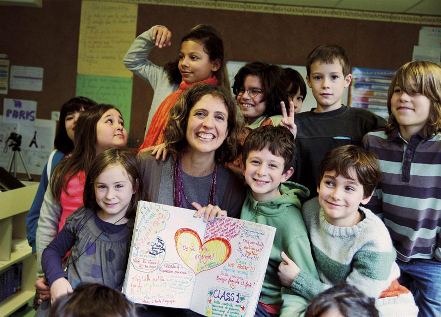 Caroline Sost enfants Living School